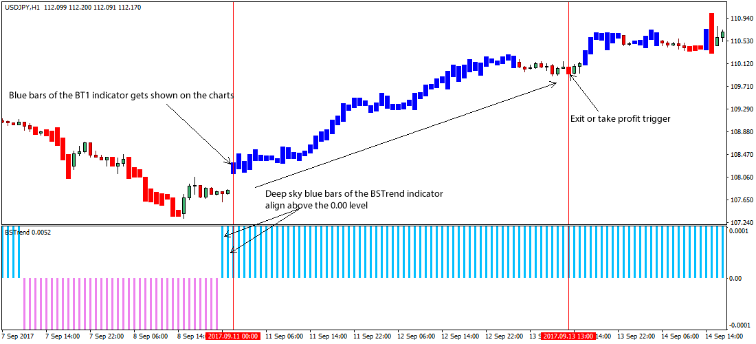 Trend follower forex strategy